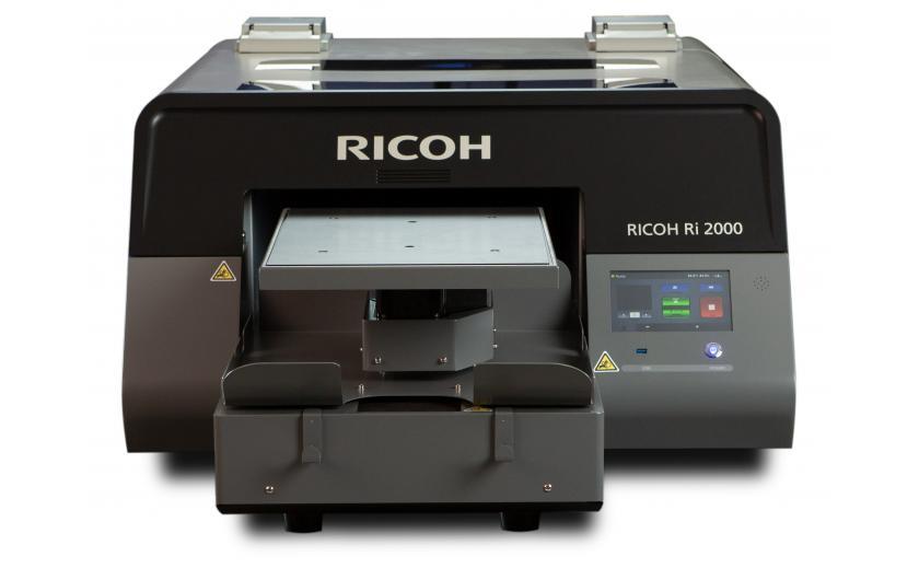 Nueva impresora textil Ricoh Ri 2000