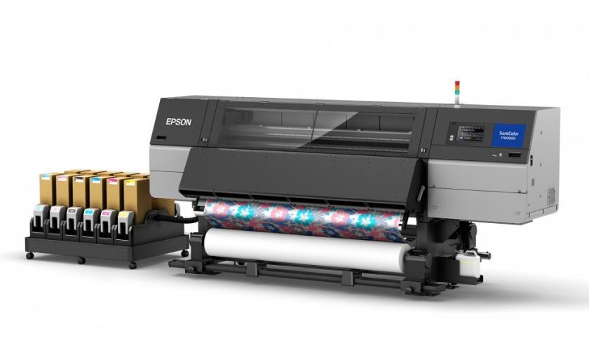 Nueva impresora textil de Epson SureColor SC-F10000H