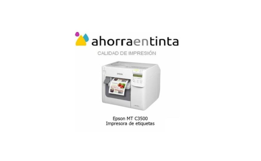 Impresora de etiquetas Epson MT C3500