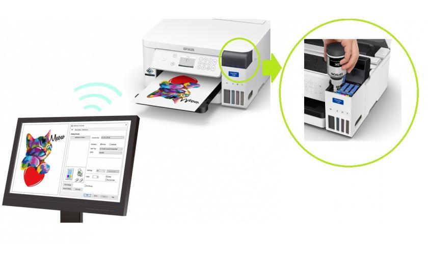 Epson SureColor SC-F100, impresora A4 para sublimación