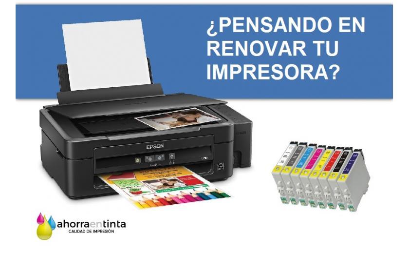 Pensando en renovar tu impresora