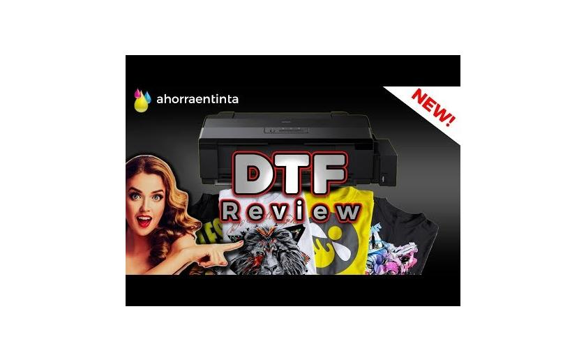 Unboxing y Review DTF Epson L1800