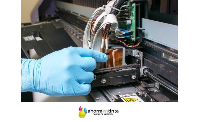 Mantenimiento de impresoras de gran formato